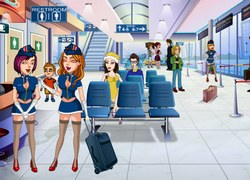 Розыгрыши в аэропорту