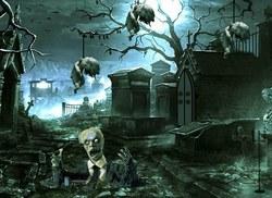 Побег из кладбища