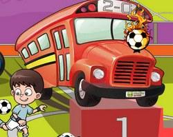 Парковка футбольного автобуса