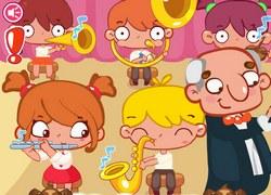 Безделье в школьном оркестре
