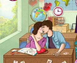 Школа: поцелуй на уроке