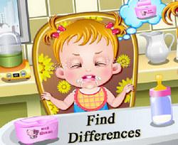Малышка Хейзел: Найди отличия