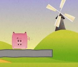 Стог и свиньи