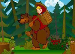 Маша и медведь: математика