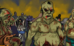 Ниндзя убивает Зомби