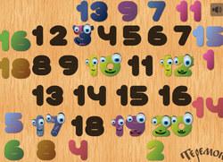 Учим числа до 20