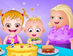 Малышка Хейзел День бабушек и дедушек