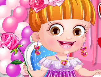 Малышка Хейзел: Наряд в День Валентина