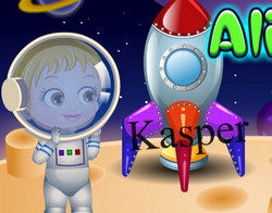Малышка Хейзел и её друг инопланетянин