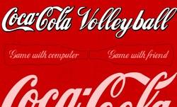 Волейбол между фантой и кока-колой