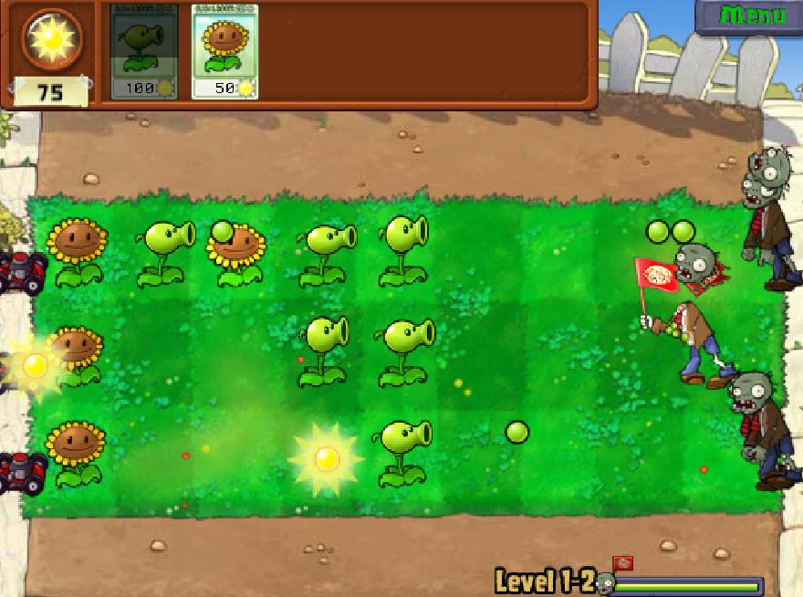 игры онлайн зомби против растений