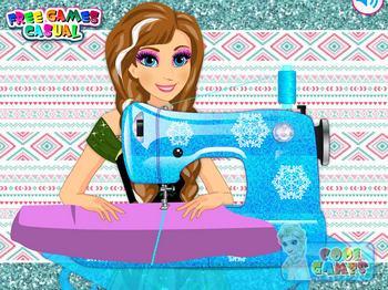 Игра с шитьем одежды