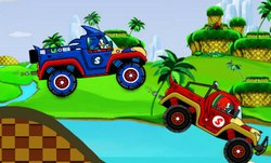 Соник: гонки на машинах