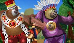 Медведи соседи для девочек