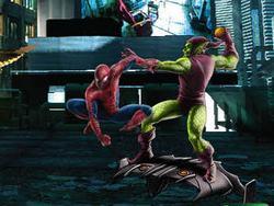 Человек паук против гоблина