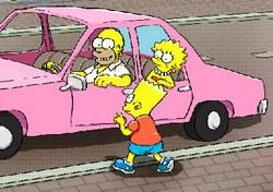 Симпсоны: парковка