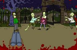 Игра Симпсоны и зомби