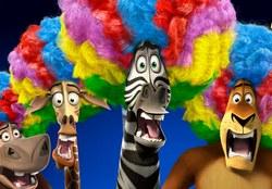 Мадагаскар: гонки в 3D