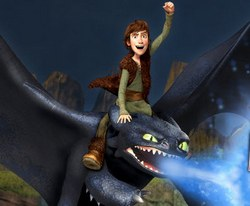 Игра как приручить дракона 3д