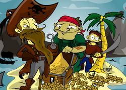 Игра поиски пиратов