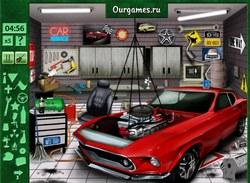 Игра автомастерская