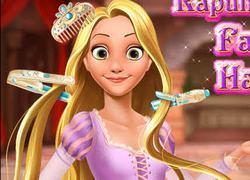 Принцесса Рапунцель: Причёска